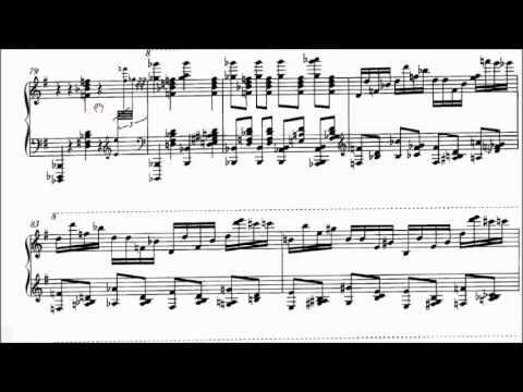 Khachaturian - Cziffra - Sabre Dance [Sheet Music]