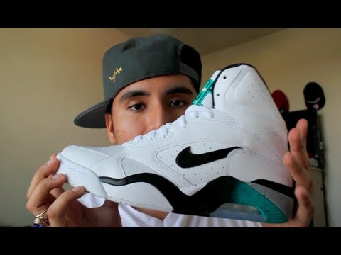 newest collection b2254 a12b0 Nike Air Force 180 Emerald Review
