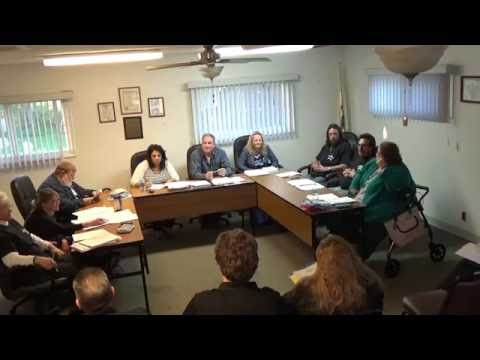 05/02/16 Village of Holiday Hills Committee meeting pt 1