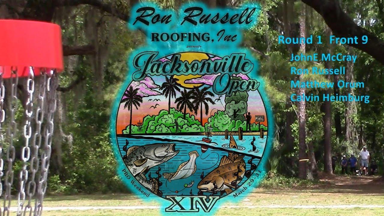 Jacksonville Open Round 1 Front 9 Mccray Russell Orum