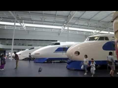JAPAN'S BULLET TRAIN MUSEUM - The Railway Museum of JR Tokai