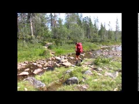 Hiking in Lapland, Urho Kekkonen National Park, Saariselkä, 2014