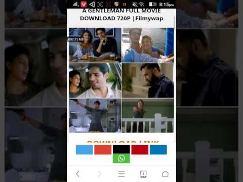How to download A Gentleman full movie HD