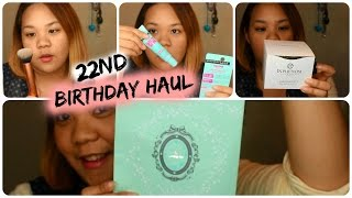 22nd Birthday Haul and Random Talking ! ( speaking in Tagalog ) ( Subtitle : English and 日本語) Thumbnail