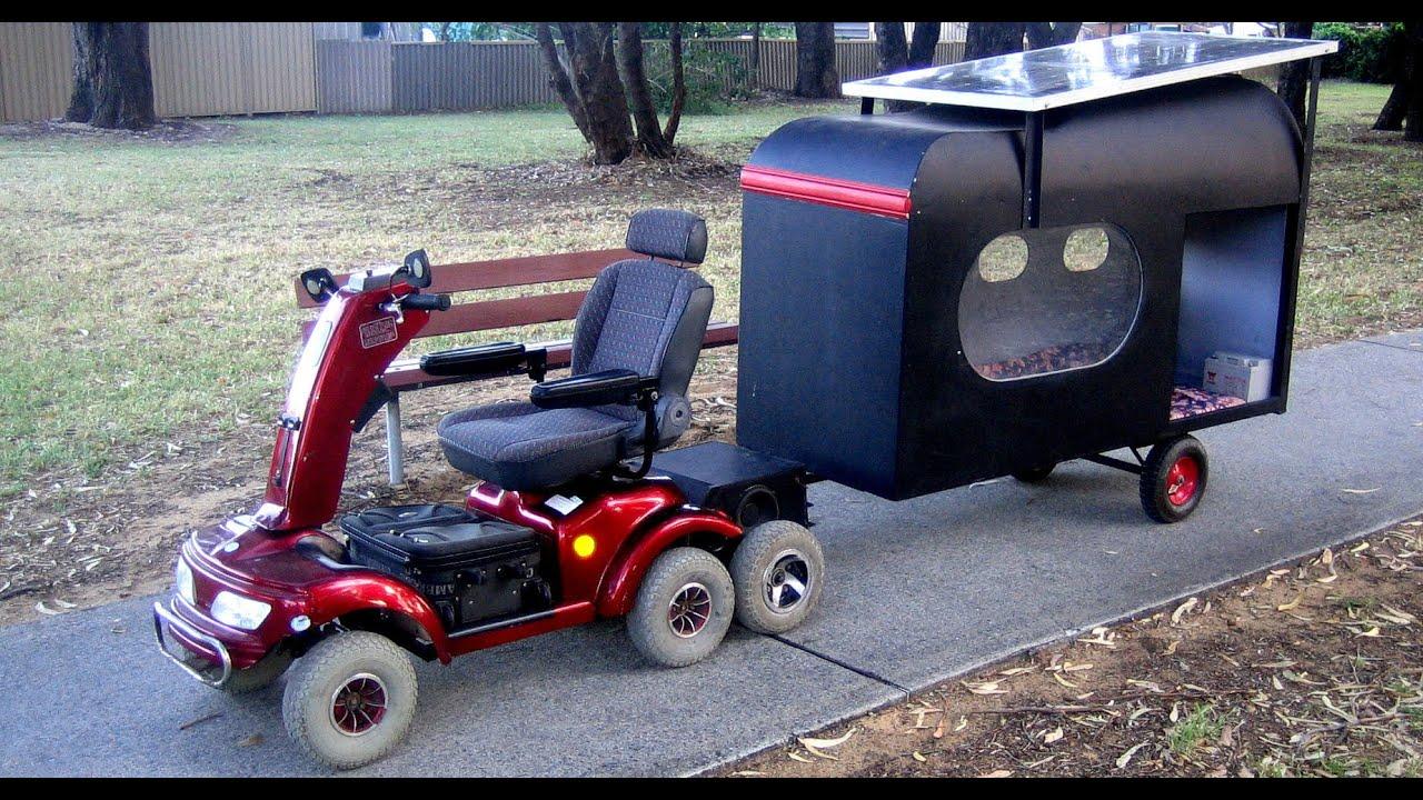 Wheelchair Trailer Red Chair Nwpa Beer Custom Camping Joy Studio Design Gallery Best