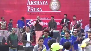 Hare Krishna Movement, Jaipur Kirtan in AU Financier Marathon Clip 1