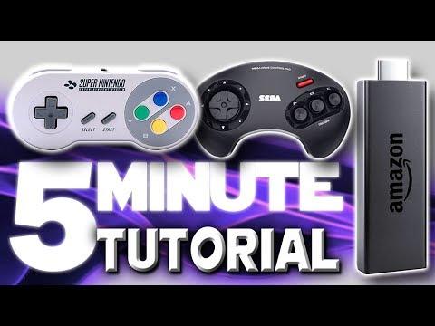 Fire TV Stick Retroarch Game Emulator: 5 Minute Setup Guide