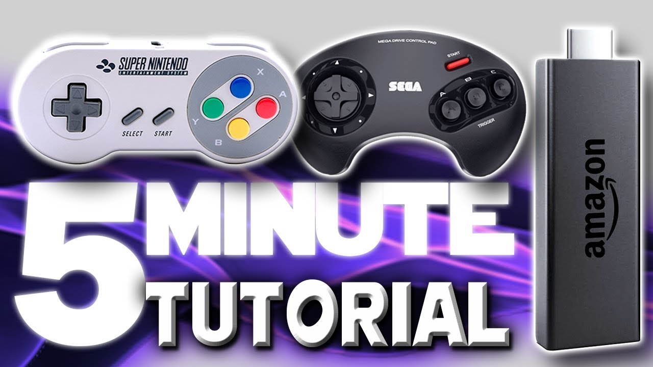Fire Tv Stick Retroarch Game Emulator 5 Minute Setup Guide Youtube
