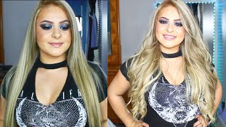 Amazing Beauty Hair Extensions Review   How to apply tape hair extensions