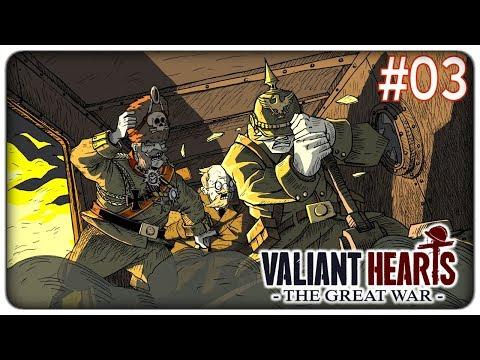ASSALTIAM0 IL DIRIGIBILE DEL BARONE   Valiant Hearts - ep. 03 [ITA]