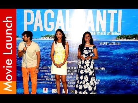 Pagalpanti Hindi Movie Launch Event at...