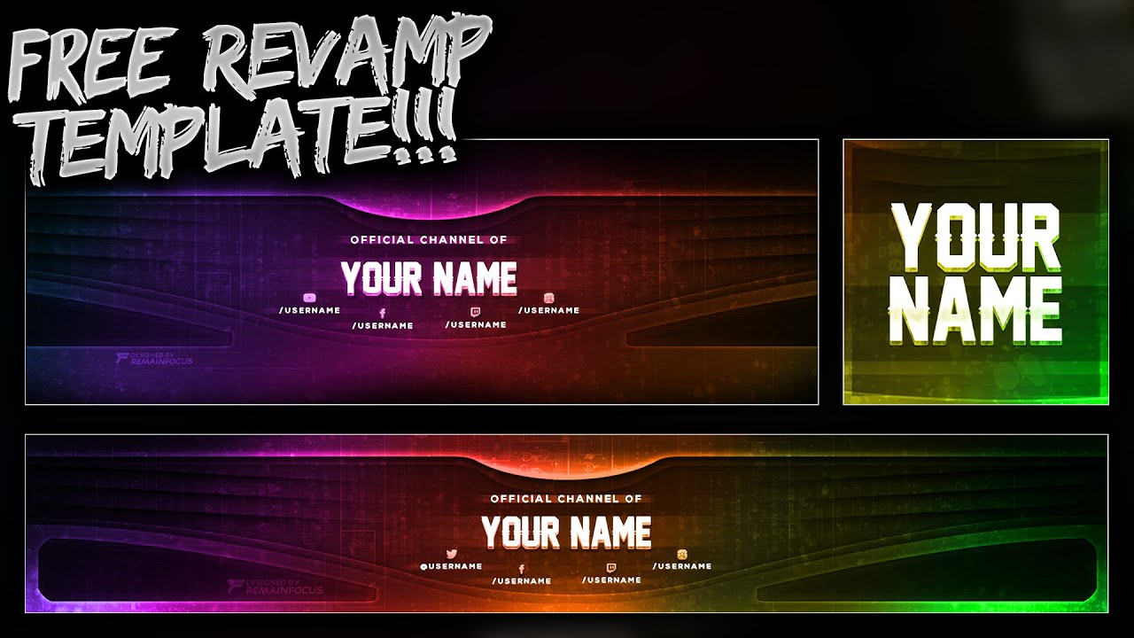 free youtube banner twitter header template psd free download free gfx youtube