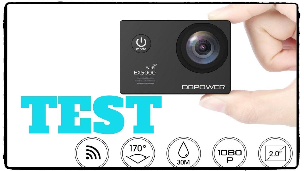 DBPOWER EX5000 Action Kamera Test / Review Deutsch - YouTube