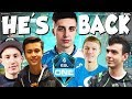 SHROUD First Match Back With Cloud9! Stand-In For Autimatic! (ESL Pro League S6 C9 Vs CLG)