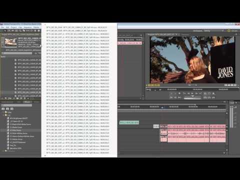Finding Clip Instances Inside Sequences Workflow Using Adobe Premiere Pro CS5.5