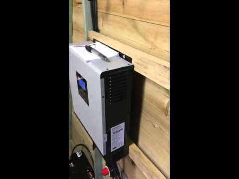 My 2000watt hybrid solar inverter