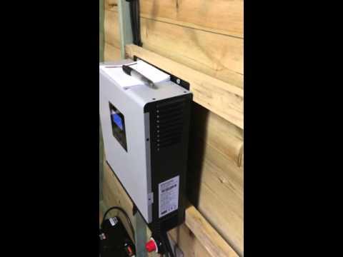 My 2000watt hybrid solar inverter