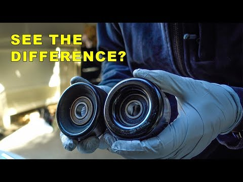How To Diagnose A Squeaking Pulley Youtube