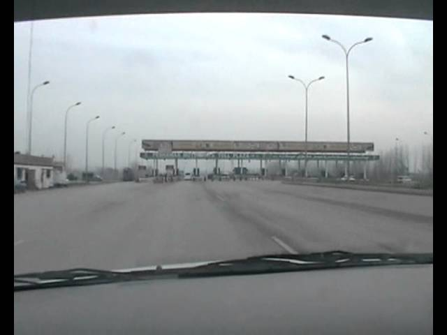 Peshawar to Islamabad Motorway (early in morning) Travel Video