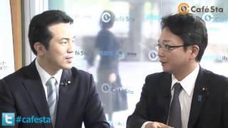 「青年局」Cafesta『決戦は金曜日』大野敬太郎青年局次長(2013.4.5) thumbnail
