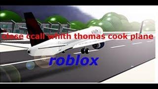 décoller appel étroit avec Thomas avion de cuisson (roblox)