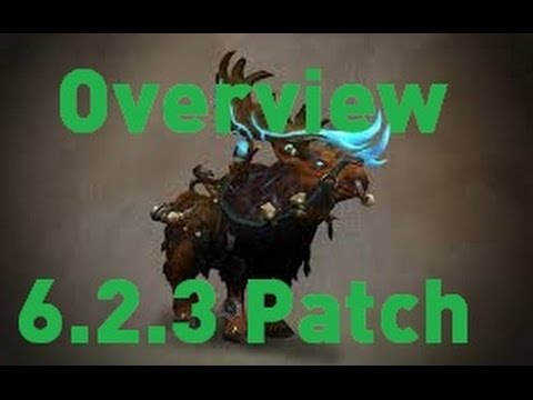 6.2.3 Overview (Valor, New Mounts, New Timewalking Dungeons, Upgrades, etc.)