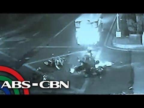 TV Patrol: Sapul sa CCTV: Mga salpukan sa Caloocan