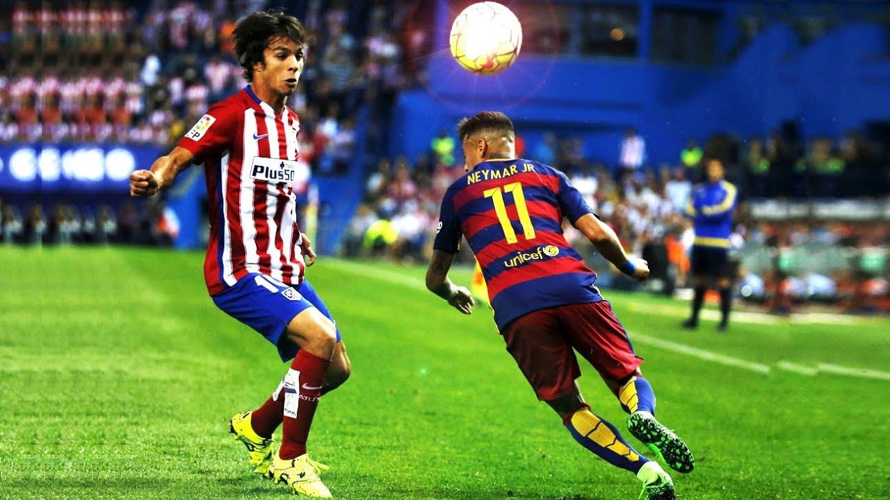 neymar king of dribbling