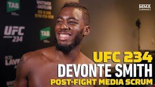 UFC 234: Devonte Smith Explains Why He Wants Francisco Trinaldo Next - MMA Fighting