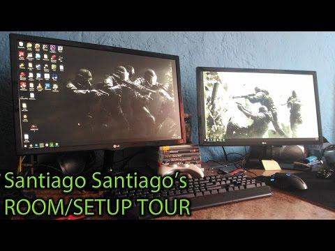 Santiago Santiago's Setup - Room Tour!