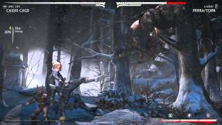 Cassie Cage - Biggest Combos (All Variations) Final