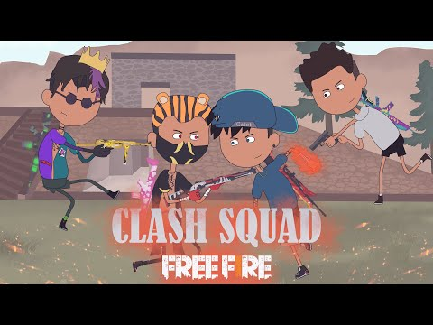 animation free fire - ditantang random player sok jago - clash squad kalahari animasi ff