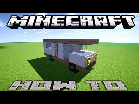how to make a rv in minecraft pe