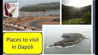 🏖 Places to visit in Dapoli | Maharashtra Tourism | India Travel | konkan beach