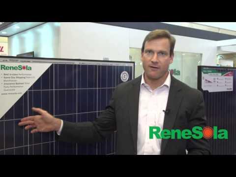 ReneSola Company Showcase At Intersolar North America