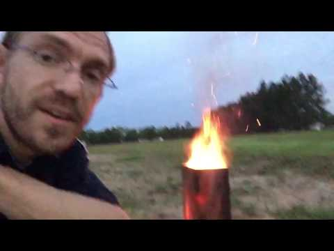 How to turn your trash can into an INCINERATOR!!!!