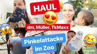 Winter & Lernlaufschuhe l HAUL l Familien Zoobesuch! l Waffel house l Vlog 656