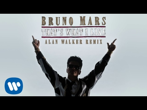 Bruno Mars  Thats What I Like Alan Walker Remix  Audio