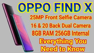 Oppo Find x Smartphone Review || Oppo Camera phone, Best 3D selfie AI camera || HANGSTECH