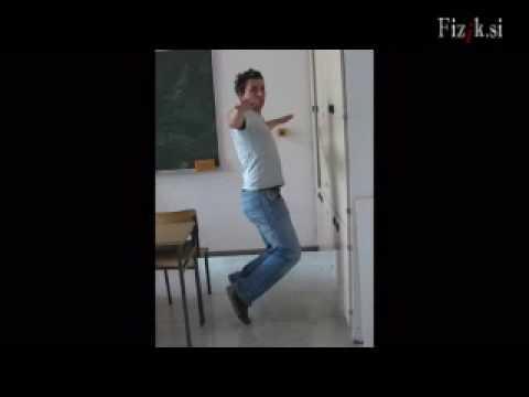 Human levitation - physics experiment