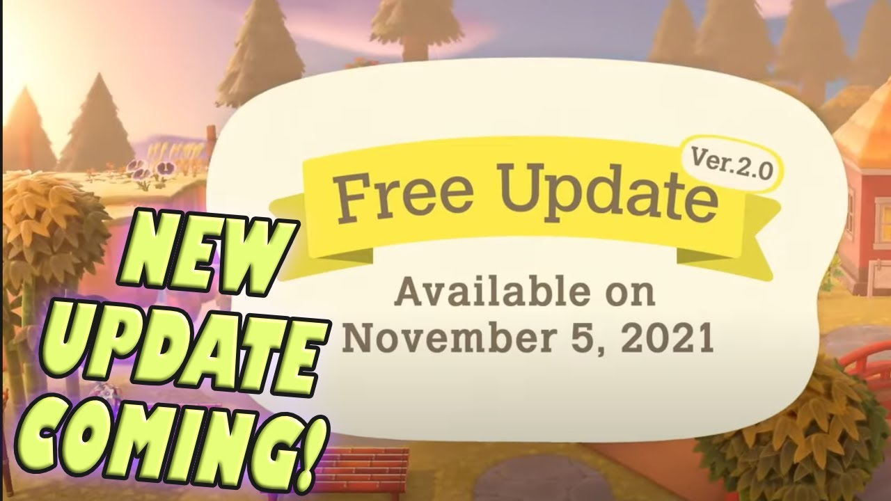 New Update Coming To Animal Crossing New Horizons | Animal Crossing New Horizons direct Update News
