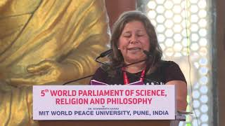 Session 3- Speech By Speaker- Prof. Norma Erekson at 5th World Parliament