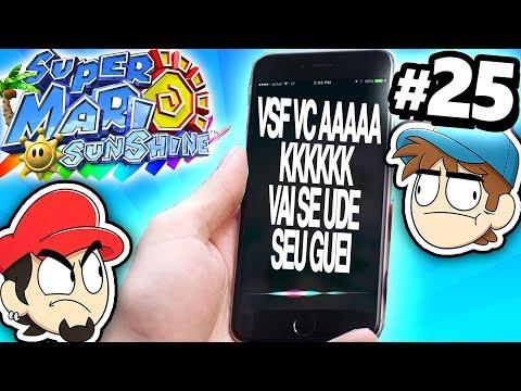 A SIRI NÃO ME AMA!? – Super Mario Sunshine #25
