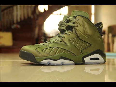 e6cfd2415a7f FIRST LOOK  JORDAN 6 FLIGHT JACKET ON FOOT HD REVIEW - YouTube
