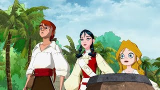 TREASURE ISLAND  Jamaica  Full Episode 6  Cartoon TV Series  English  Full HD