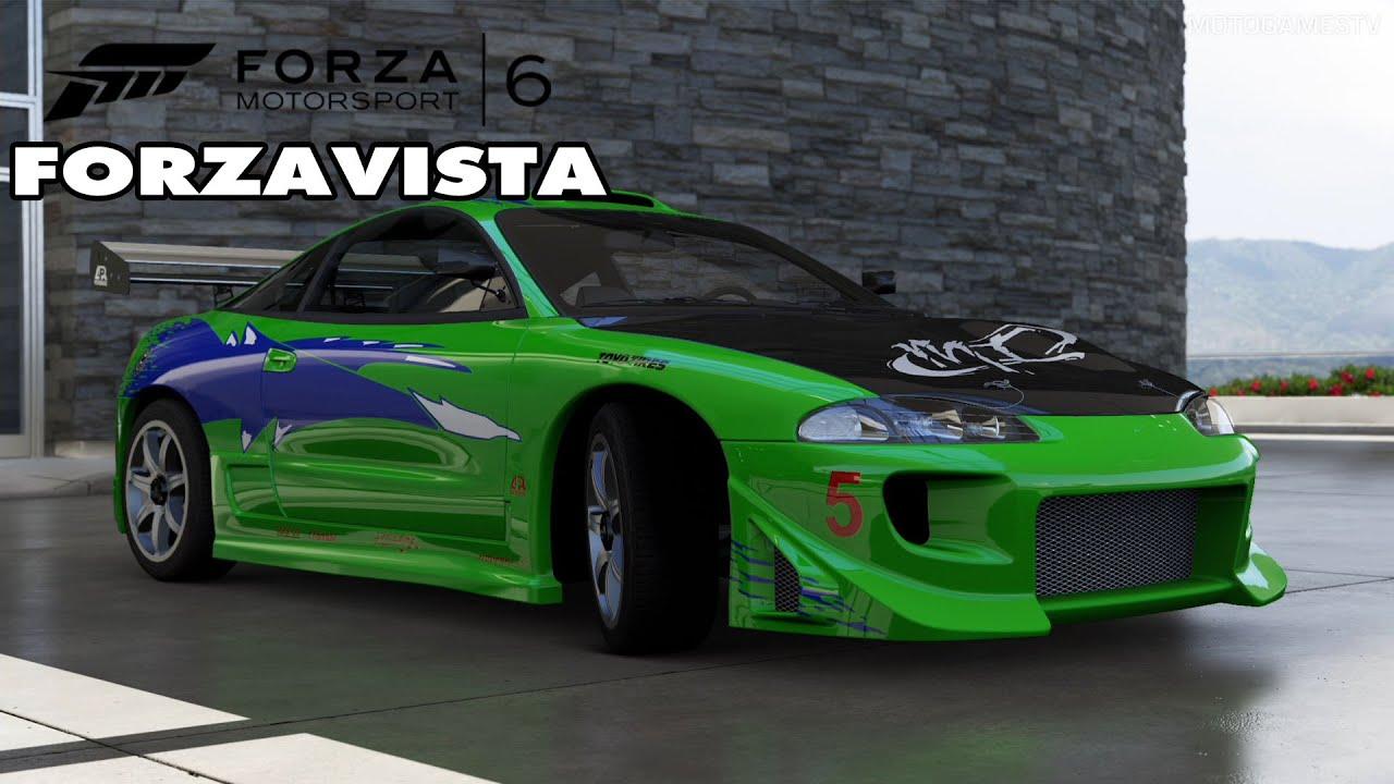 forza motorsport 6 mitsubishi eclipse gs fast furious edition