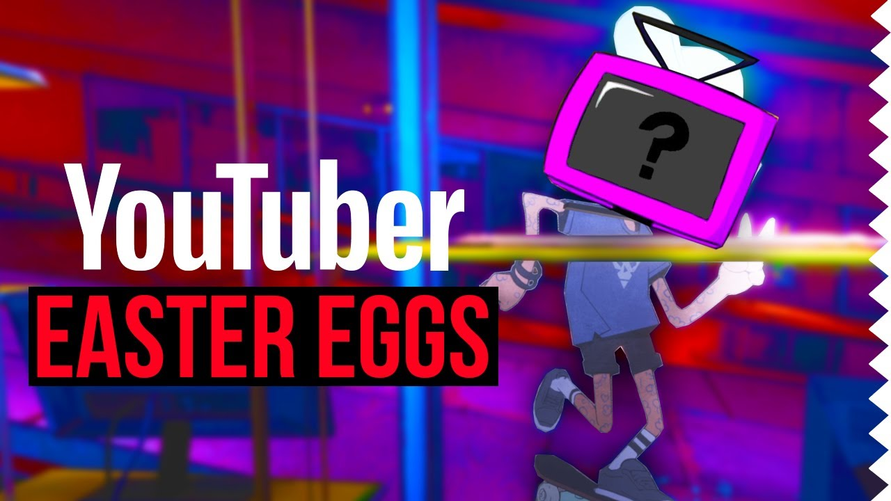 YouTuber Easter Eggs in Video Games!