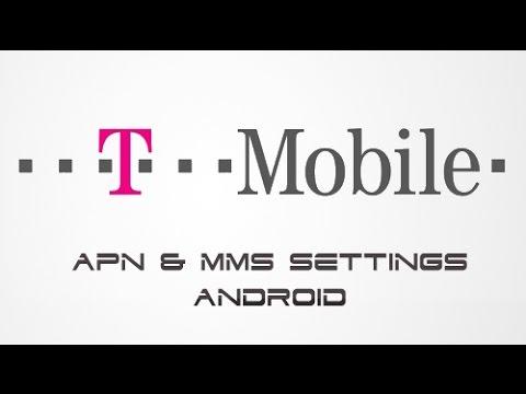 How to setup T-Mobile