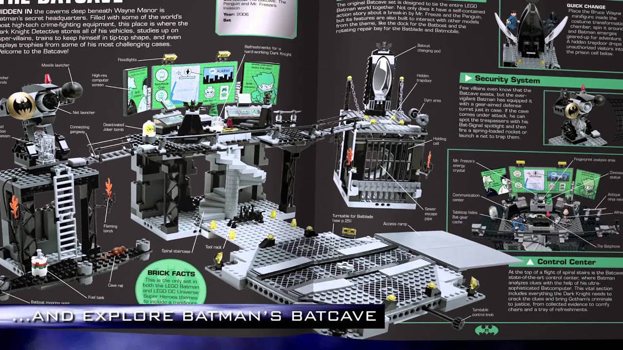Batman Visual Dictionary Lego Super Heroes Youtube