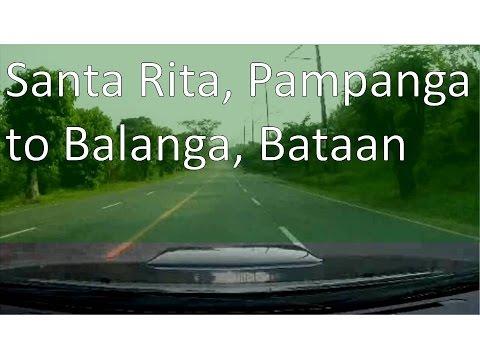 Santa Rita, Pampanga to Balanga, Bataan